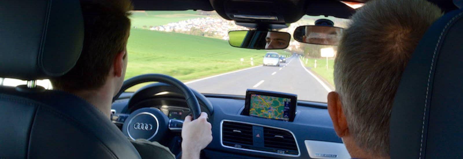 Fahrstunde im Audi Q3